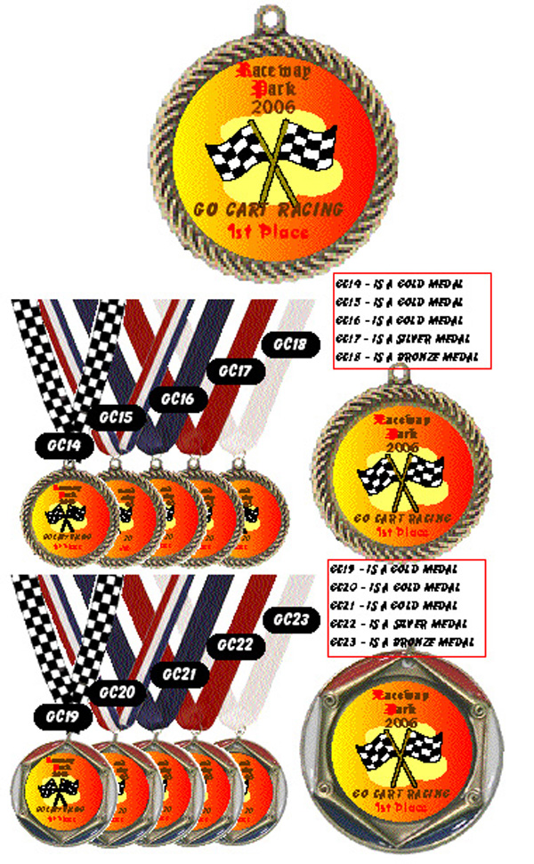 Medals for Racing #GC14